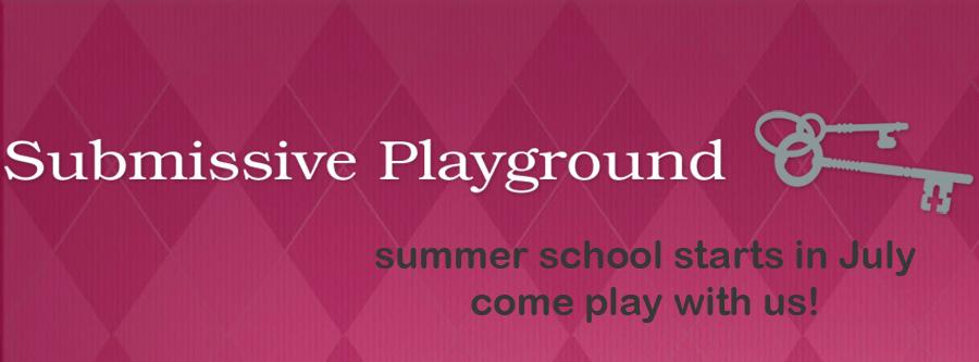 Submissive Playground Winner!