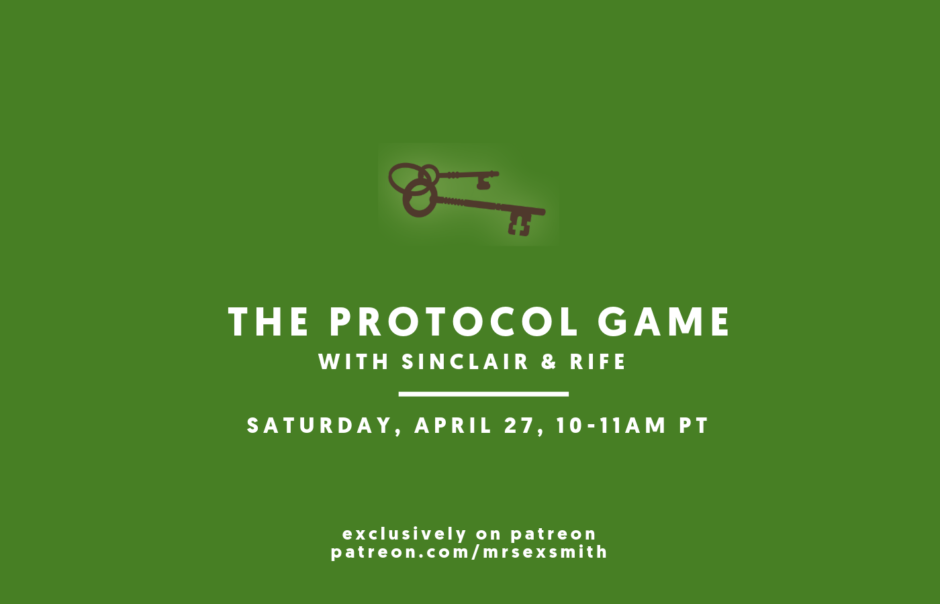 Fundamentals of the Protocol Game