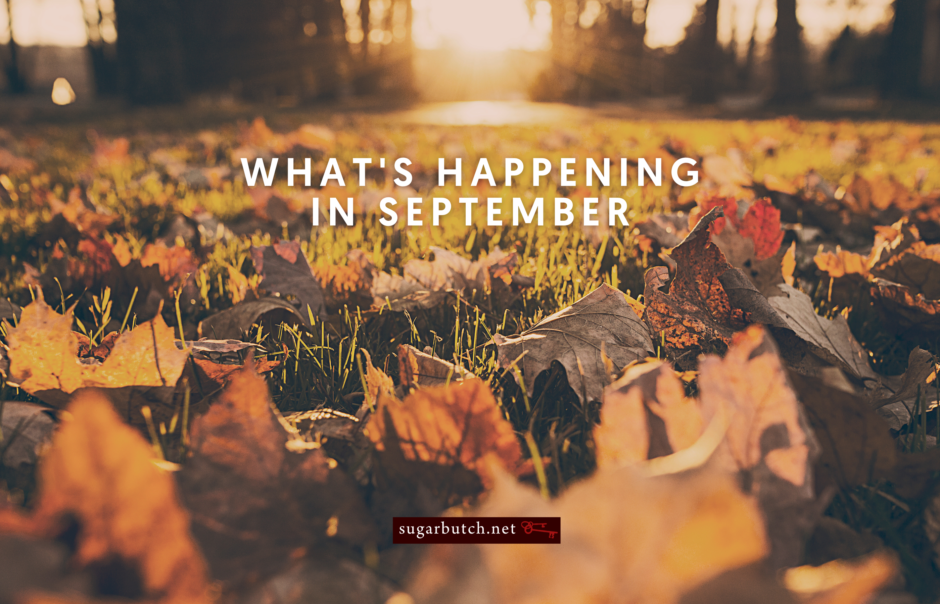 What's Happening in September, 2020