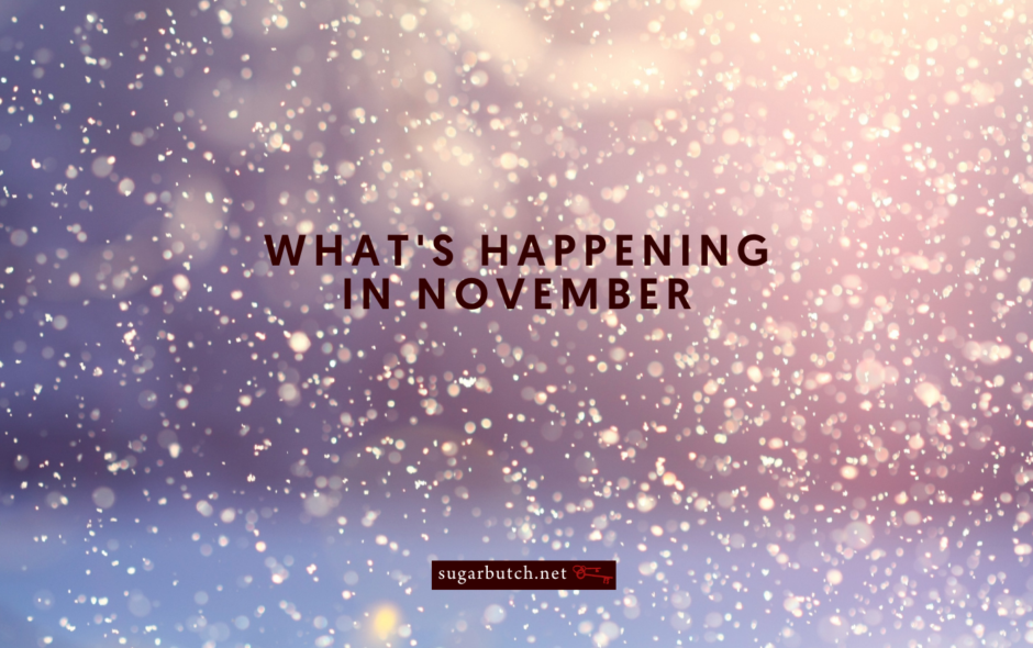 What's Happening in November (& Beyond)