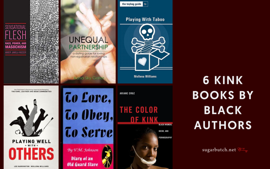 6 Kink Books by Black Authors