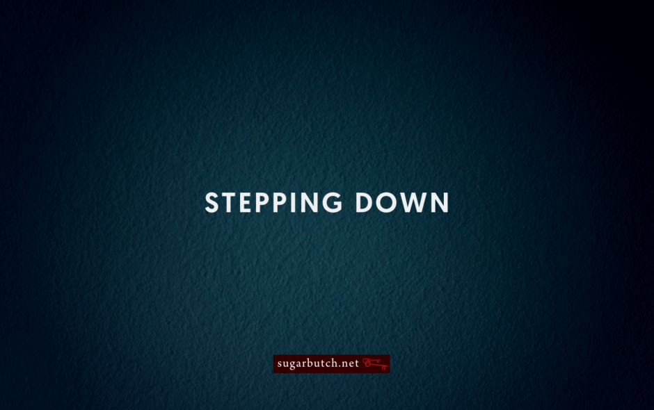 Stepping Down