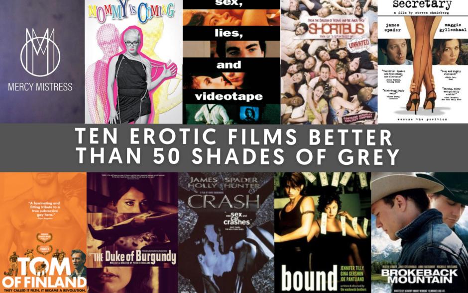 Ten Erotic Films Better Than 50 Shades of Grey